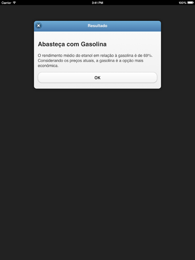 Álcool ou Gasolina- screenshot