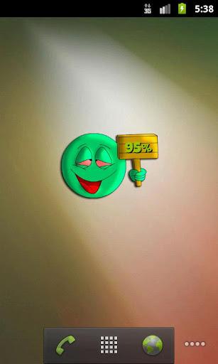玩免費個人化APP|下載High Emoticon Battery app不用錢|硬是要APP