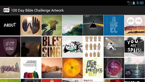 100 Day Bible Challenge Art