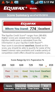 Equifax Mobile Screenshot 2
