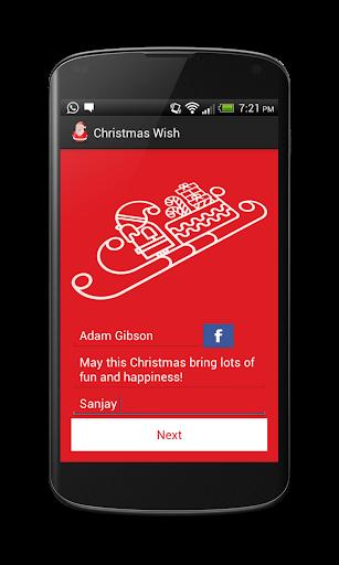【免費個人化App】Christmas Wish Generator-APP點子