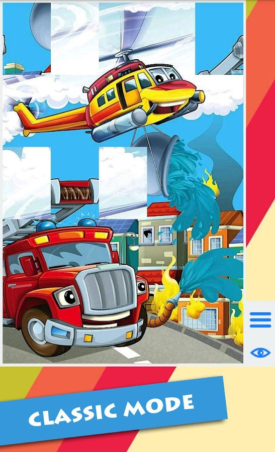 Cartoon Vehicles For Kids - screenshot