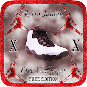 Jordan Retro 10 Live Wallpaper