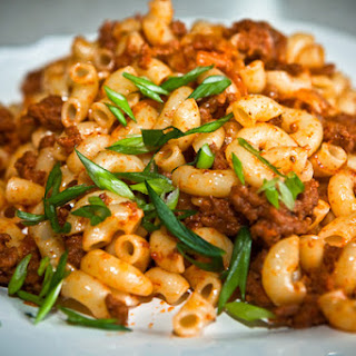 Macaroni with Meat (Navy Style)