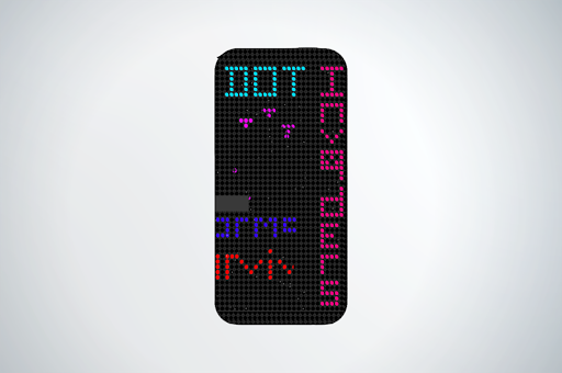 Dot Invaders HTC dot case