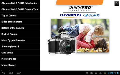 Guide to Olympus OM-D E-M10