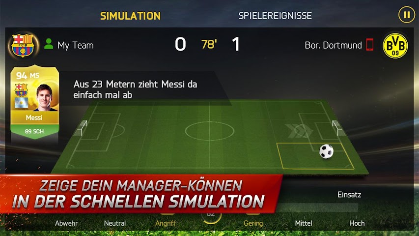 android FIFA 15 Ultimate Team Screenshot 6