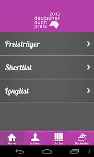 Buchpreis- screenshot thumbnail