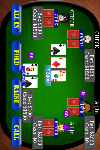 Poker - Texas Holdem - screenshot