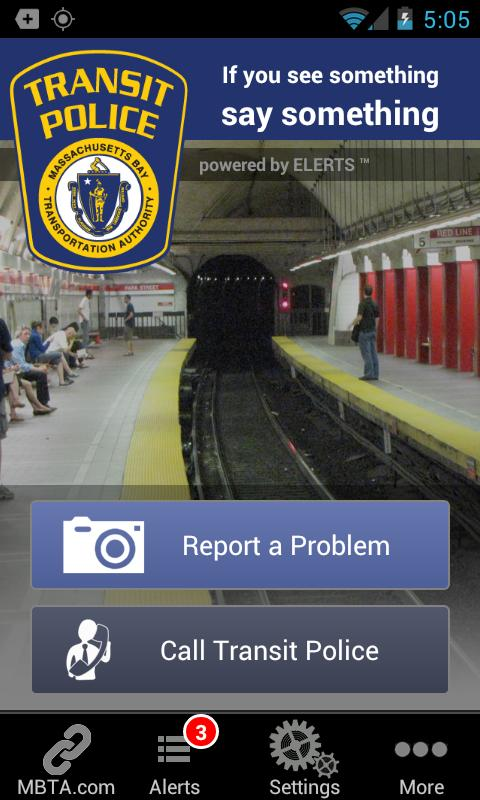 MBTA See Say - screenshot