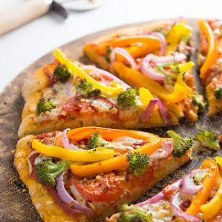 Veggie Rainbow Pizza