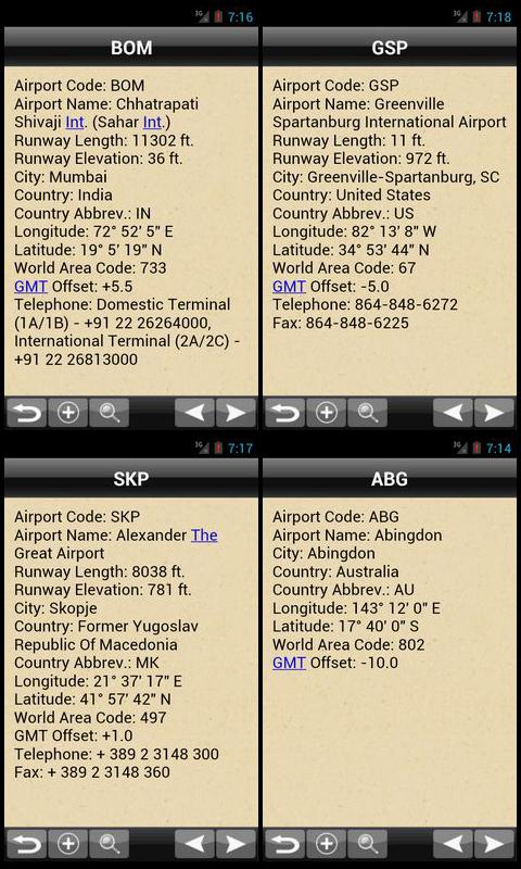 Airport Code Plus+ - screenshot