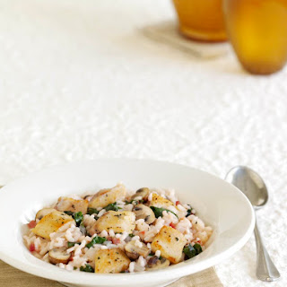 Chicken and Mushroom Risotto.
