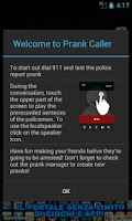 Screenshot of Prank Caller 1.0