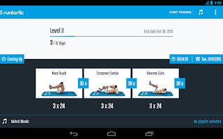 Screenshot of Runtastic Six Pack Abs Workout