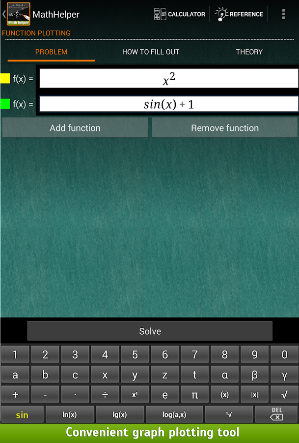 Math Helper - Algebra Calculus- screenshot