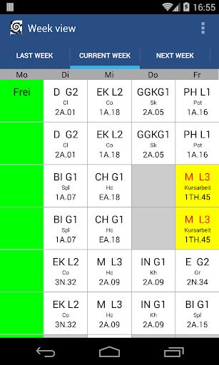 Timetable OHG Landau