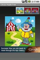 Screenshot of Circus Puzzle Free
