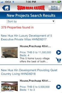 Siam Real Estate- screenshot thumbnail