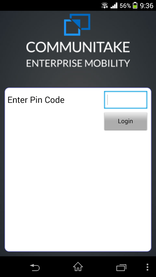 Enterprise Mobility (Bell)- screenshot