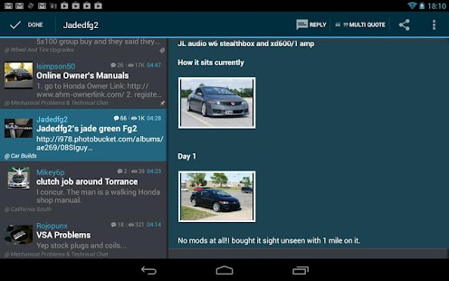 Tapatalk HD – Community Reader v1.3.2 Apk Full App