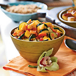 West Indian Vegetable Curry.