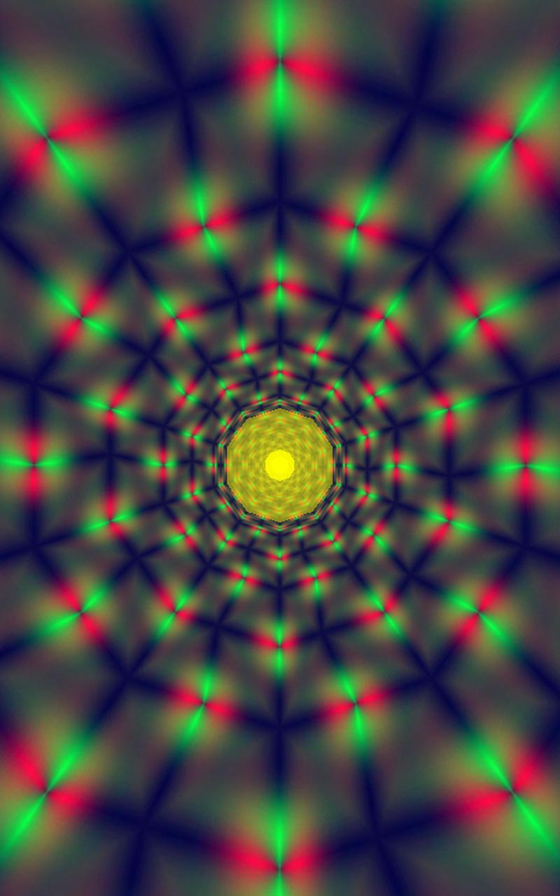 Morphing Tunnels Music Visualizer Screenshot