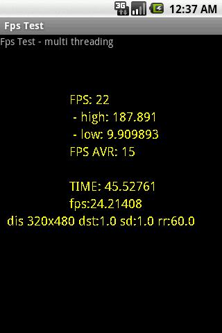 FPS Test- screenshot