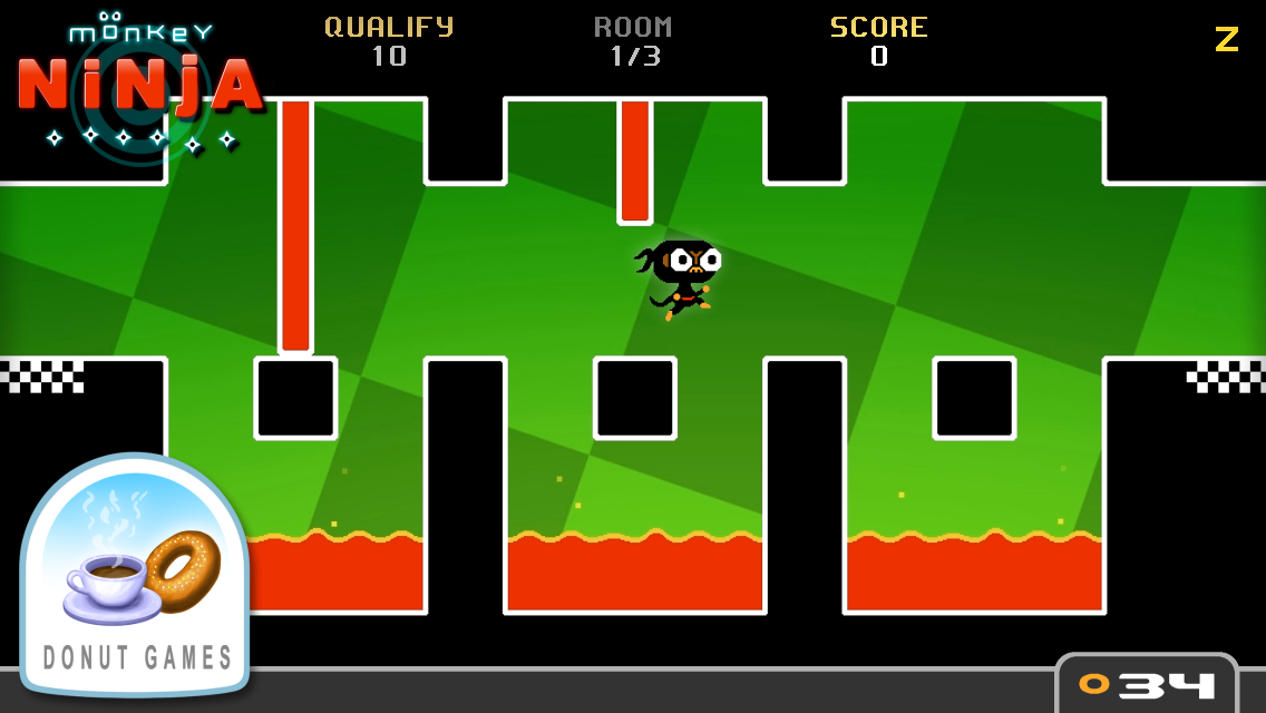 Monkey Ninja- screenshot