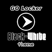 GO Locker Black-White Theme