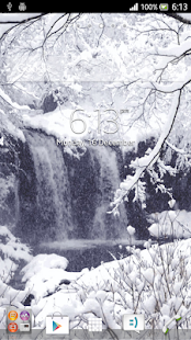 Christmas Snow Live Wallpaper - screenshot thumbnail