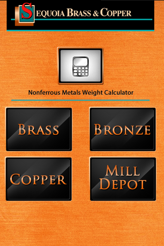 Copper Alloy Weight Calculator