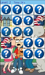 MatchUp American dad . Memory - screenshot thumbnail