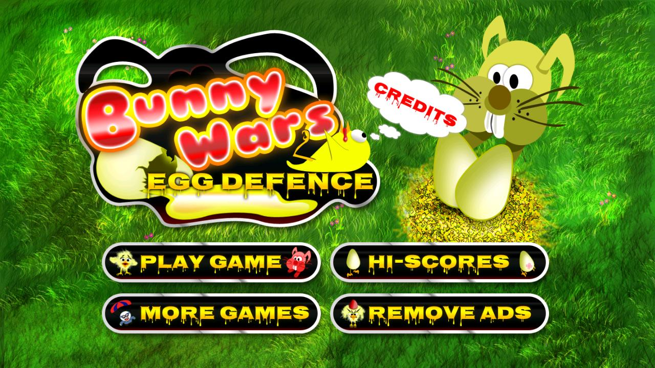Bunny Wars: Egg Defence- screenshot