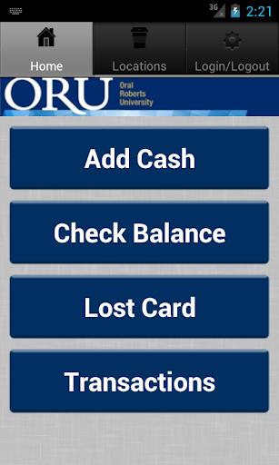 ORU Eagle Card