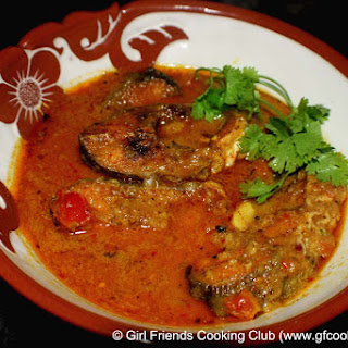 Sri Lankan Style Fish Curry ( With Tamarind & Coconut Milk).