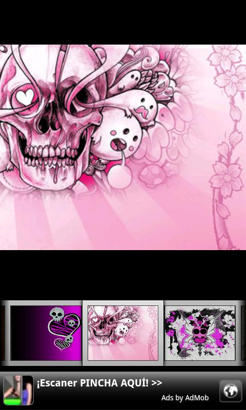 Girly Skull Wallpapers - screenshot