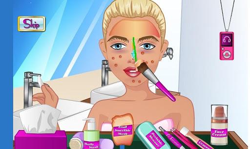 Makeup in School Toilet