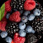 Лесные ягоды живые обои icon