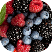 Wild berries live wallpaper