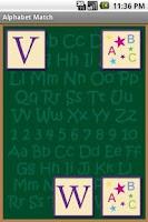 Screenshot of Alphabet Match