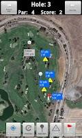 Screenshot of Caddie Stats Golf GPS