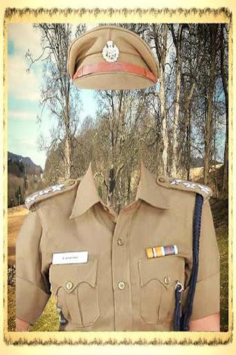 Police Uniform Photo Suit