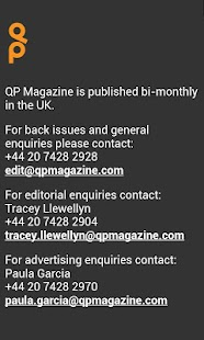 QP Magazine - screenshot thumbnail