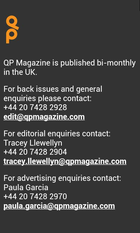 QP Magazine - screenshot