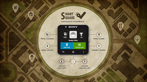 SmartSquare for SmartWatch 2