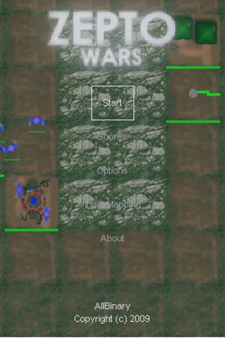 ZeptoWars RTS - Free - screenshot