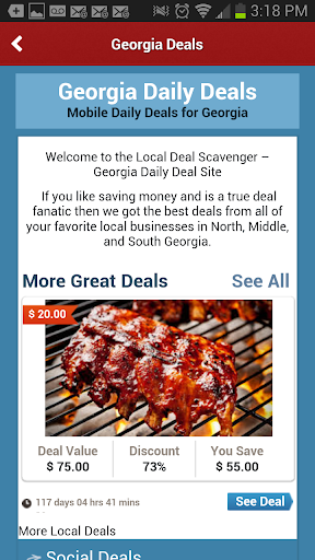 Local Deal Scavenger - Atlanta