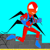 Spider hero jump game