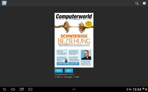 Computerworld Schweiz- screenshot thumbnail